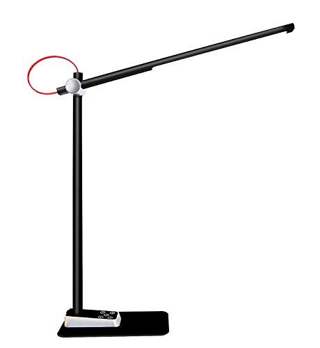 Lámpara Escritorio LED, LUCKY OLEAN,Flexo led escritorio, luz de lectura para libro,Control...