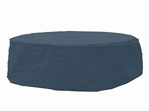 Premium Table de jardin couverture mobilier de jardin Housse de protection environ Ø 80 cm x H 75 cm beige