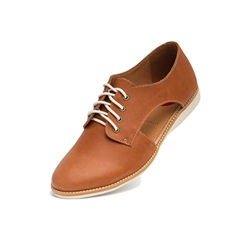 Rollie Lace-up Shoe with Cut-Out Sides