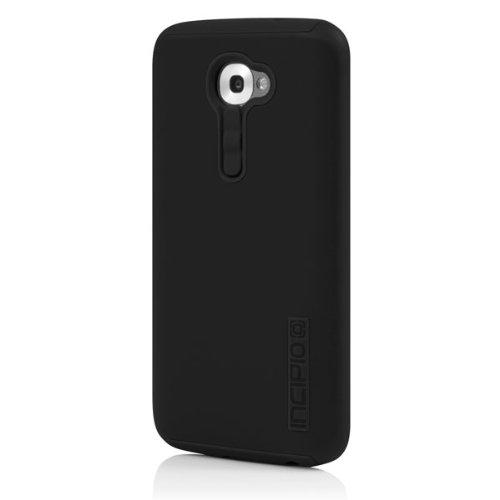 Incipio DualPro Case for LG G2 (Verizon) - Carrying Case - Retail Packaging - Black/Black