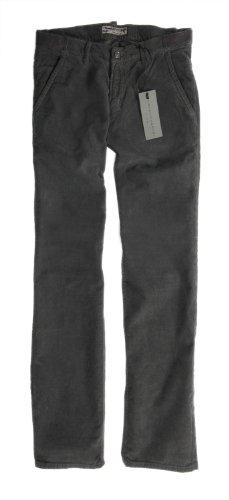 Baldessarini Feincord Herrenhose, Größe 36/34, anthrazit