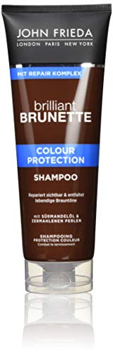 John Frieda Brilliant Brunette Colour Protection Shampoo - 2er Pack (2 x 250 ml)