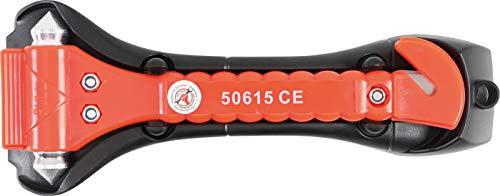 Kraftmann 50615 | Nothammer mit Gurtschneider | 170 mm