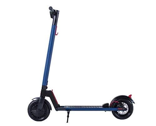 GOTRAX Patinete eléctrico Scooter - Negro & Rojo - Potencia Motor: 250W - Autonomia: 20km