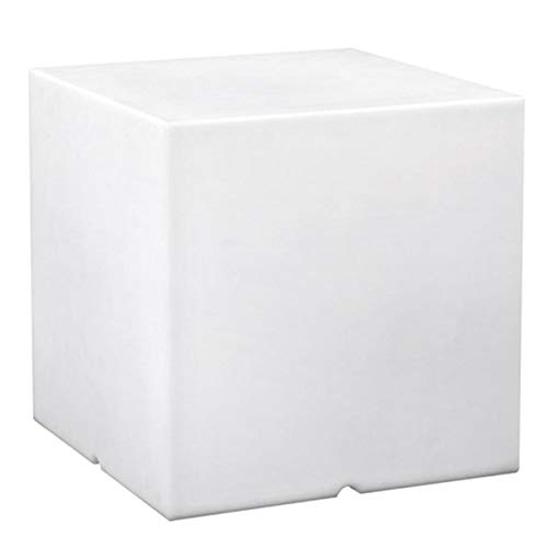 Cube lumineux tabouret filaire pour extérieur LED blanc CARRY 40cm culot E27