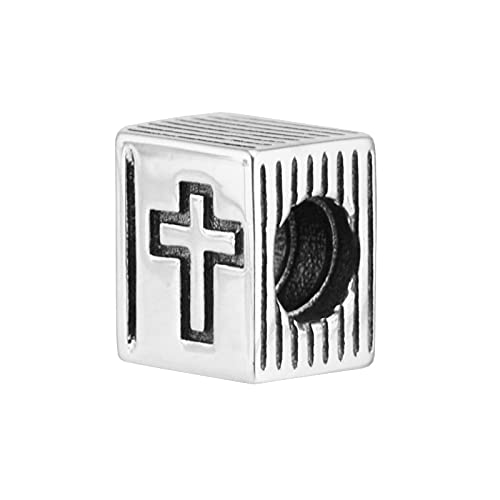 Diy 925 Pandora Colgante De Cuentas Para Hacer Joyas Sterling-Silver-Jewelry Bible Beads Charm Charm De Plata