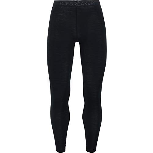 Icebreaker 175 Everyday Leggings Base Layer Homme Black FR : 2XL (Taille Fabricant : XXL)