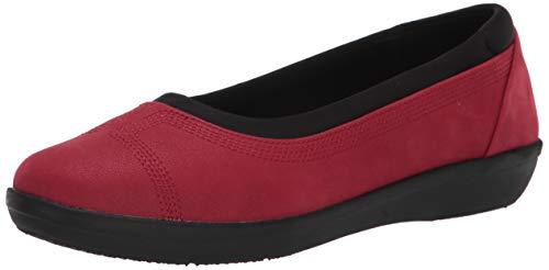 Clarks Ayla Low para Mujer, Color Rojo, Talla 40 EU