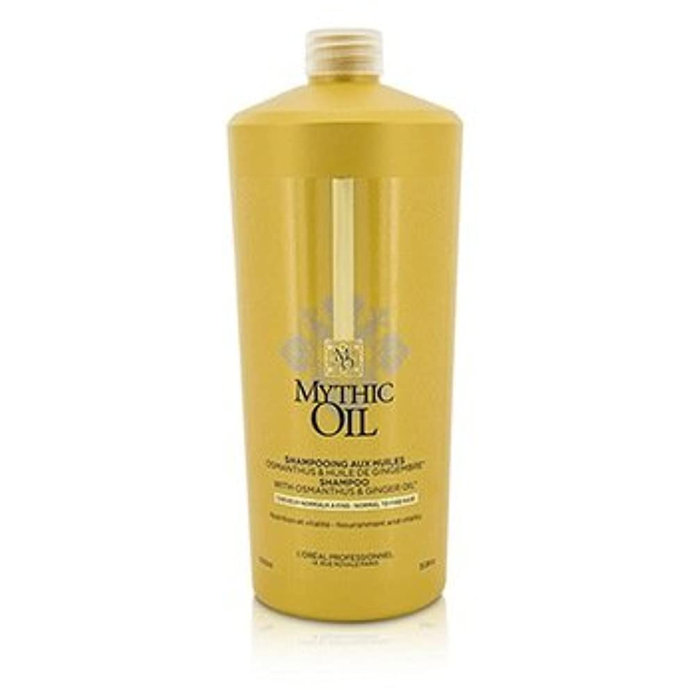 本物の平野思慮深い[LOreal] Mythic Oil Shampoo with Osmanthus & Ginger Oil (For Normal to Fine Hair) 1000ml/33.8oz