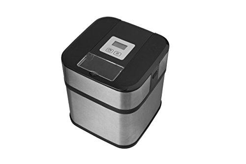 Gracias al contenedor de doble aislamiento puedes hacer deliciosos helados en 20 minutos Heladera está diseñada para hacer deliciosos helados, sorbetes y yogurt congelado Pantalla lcd con temporizador digital