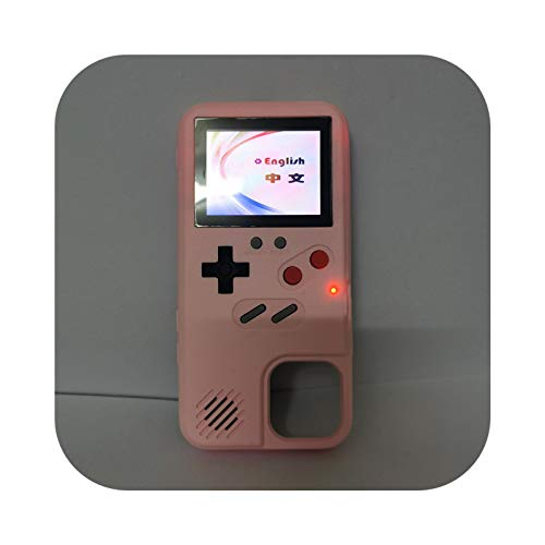 Gameboy Xr - Funda para iPhone 11, diseño retro de Game Boy 12 Pro Max, color rosa