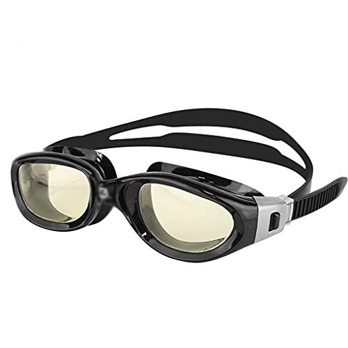 XZJJZ Gafas de natación Marco de Gran tamaño Triatlón Agua Abierta Anti-Niebla Protección UV para Adultos Mujeres Mujeres (Color : D)