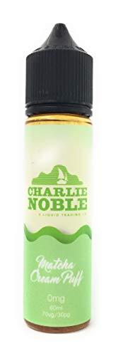 CHARLIE NOBLE(チャーリーノーブル)電子タバコリキッド60ml Matcha Cream Puff(抹茶シュークリーム)