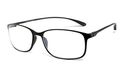 Calabria Reading Glasses - 720 Flexie in Ebony +2.50