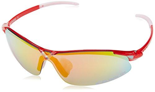 EASSUN X-Light Gafas De Sol, Unisex, Rojo Claro, M