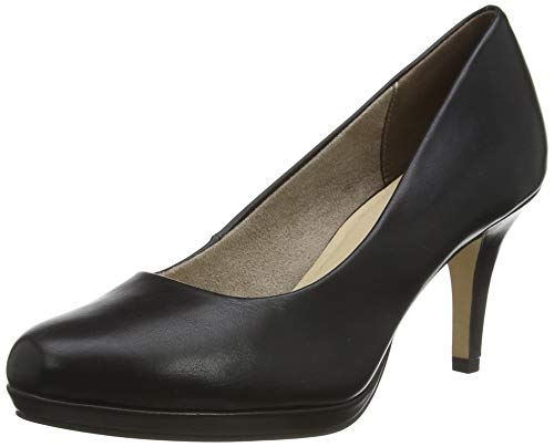 Tamaris Damen 1-1-22444-24 Pumps, Schwarz (Black MATT 020), 41 EU