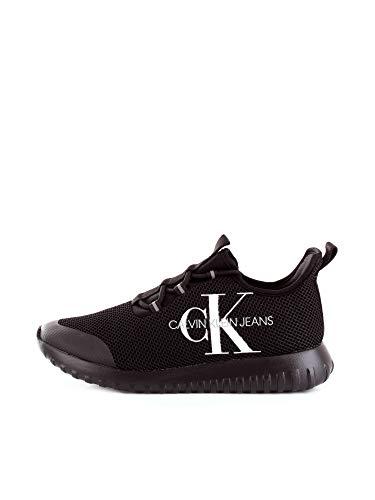 Calvin Klein - Pantalones vaqueros CKJ Reiland Slip on Black B4S0707, Negro (Negro ), 41 EU