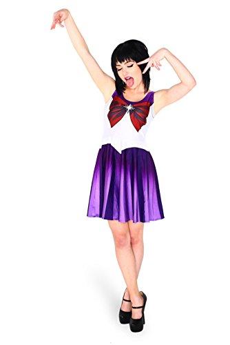 Bellyanna - Disfraz de marinero para mujer Sailor Saturn M