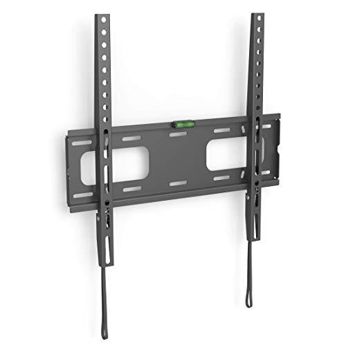 Flashstar TV Wandhalterung FIX für Fernseher von 37-75 Zoll (94cm bis 191cm Bildschirmdiagonale), inkl. Fischer Dübel, VESA bis 400x400, Wandabstand von nur 2,6 cm, max. 40 kg, schwarz