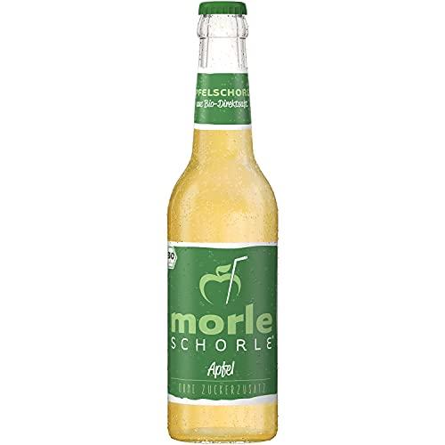 Elbler Morleschorle Appelspritzer, 1 x 0,33 l, Bio Appelspritzer, Gemaakt van Bio Fruit, Direct Sap Zonder Toegevoegde…