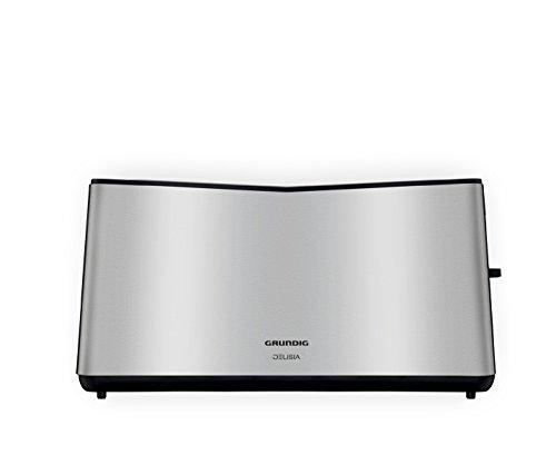 Grundig TA 8680 Toaster mit hochwertigem Edelstahlkorpus