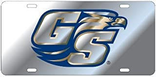 GEORGIA SOUTHERN EAGLES Mirrored License Plate Tag