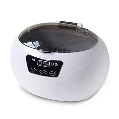 HKDJ-35W Ultraschallreiniger für Schmuck Dental, 40kHz Ultra Sonic Bad Reinigungsmaschine Ultraschallreiniger, 600ml