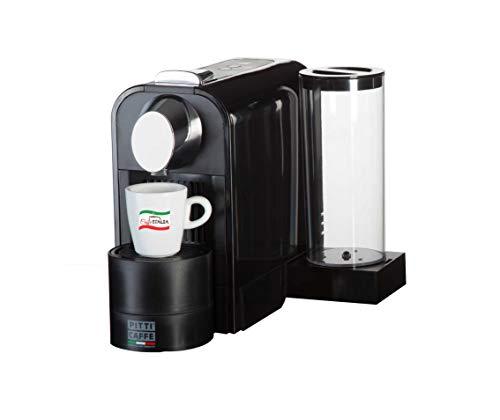 Caffeitalia Cafetera de té para Nespresso, importada de Italia (negro)
