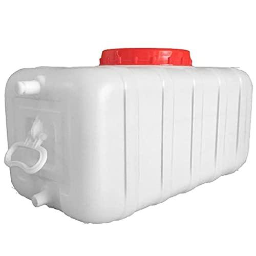 Tanque De Agua De Plástico Camping Coche Al Aire Libre Tanque De Agua 50l / 100l / 150l / 200l Camping Senderismo De Alquiler De Agua Almacenamiento De Agua Contenedor De Agua Multifuncional(Size:50L)