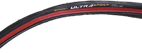 Continental Ultra Sport II 25-622 Fahrradreifen, Schwarz, One Size