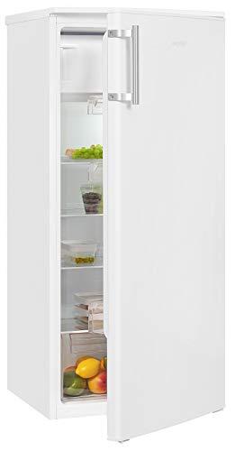 Exquisit Kühlschrank KS185-3-H-040F inoxlook | Standgerät | 193 l Volumen | Inoxlook