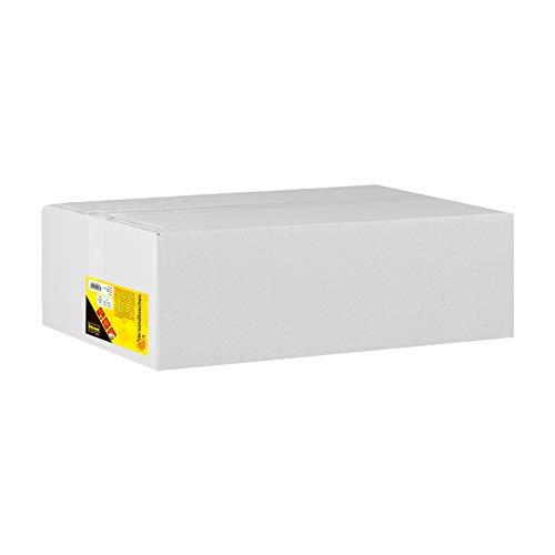 Idena 10236 - Versandtasche DIN C4, 90 g/m², selbstklebend, mit Fenster, 250 Stück, weiß