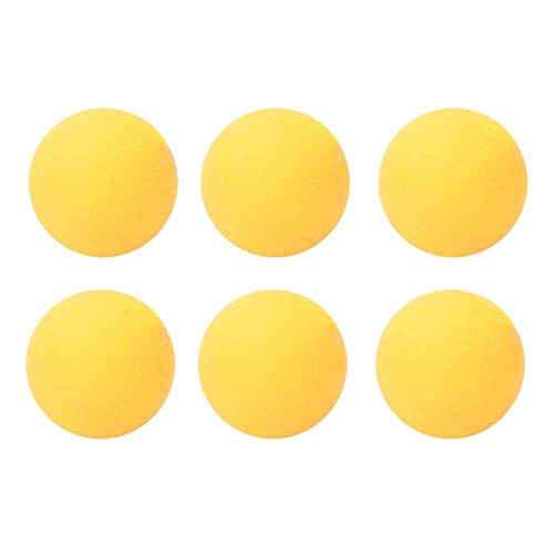 Buy Oumij1 Table Tennis Balls - 6PCS 40mm Ping Pong Ball - Standard Durable PVC Training Balls - Pra...