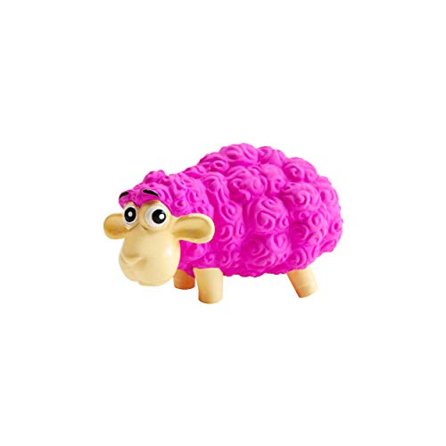 Outward Hound Tootiez Latex Rubber Grunting Sheep Dog Toy