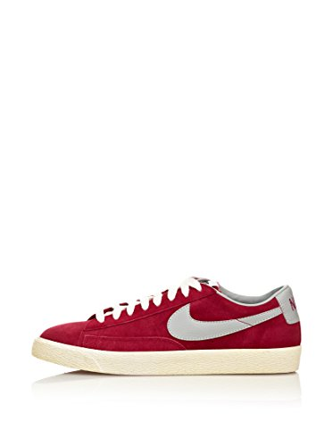 Nike Sneaker Blazer Low Premium Vintage Suede rot/grau EU 45