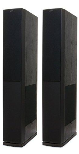 Jamo S 628 Standlautsprecher, Farbe: schwarz, Paar