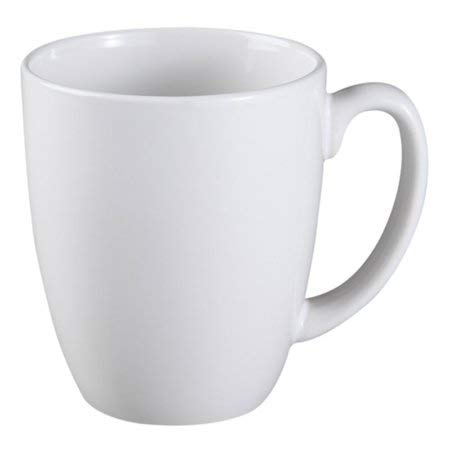 Corelle Livingware Coffee Mug Winter Frost White 11 Oz, Set Of 4 (4 Pack)