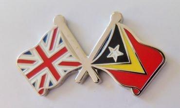 1000 Flags Timor-Leste Drapeau du Timor East Timor et drapeau du Royaume-Uni