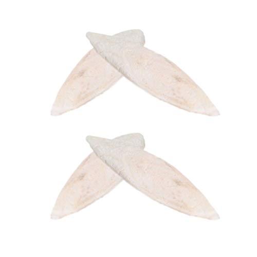 POPETPOP 8 Unids Juguetes para Masticar Aves, Juguetes de Periquitos de Hueso de Sepia de Desecación para Cockatiel Loros Grises Periquitos y Pequeños Animales, 10cm