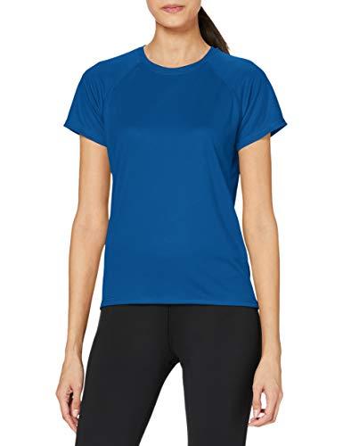 Stedman Apparel Active 140 Raglan/ST8500, Camiseta de deporte Para Mujer, Azul (King Blue), Small
