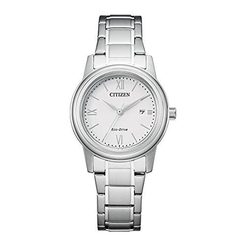 Citizen Eco-Drive FE1220-89A - Reloj solar para mujer con correa de acero