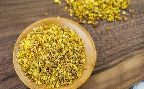 100% Natural Osmanthus Flower Tea Fragrant Whole Osmanthus Flowers 桂花 50g