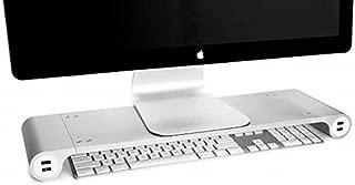 SPACE BAR Amazing, Base para Monitor EDICION Limitada 4 Puertos para Carga USB, Perfecta para Guardar el Teclado Debajo de Ella The Intelligent Piece AT Home