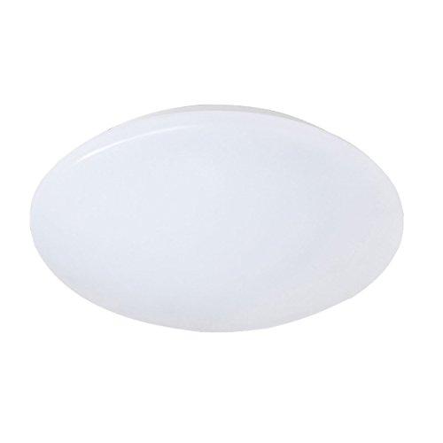 Reality Leuchten LED Deckenleuchte, 10 W, Kunstoff, Durchmesser 27 cm, weiß R62601201 [Energieklasse A+]