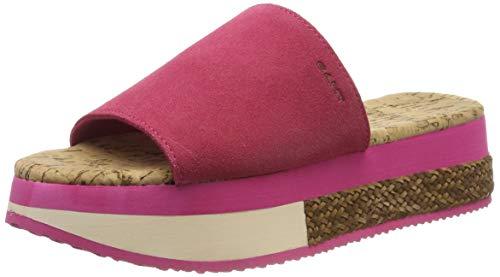 GANT Footwear Damen SANT ANA Plateausandalen, Pink (Fuchsia G587), 37 EU