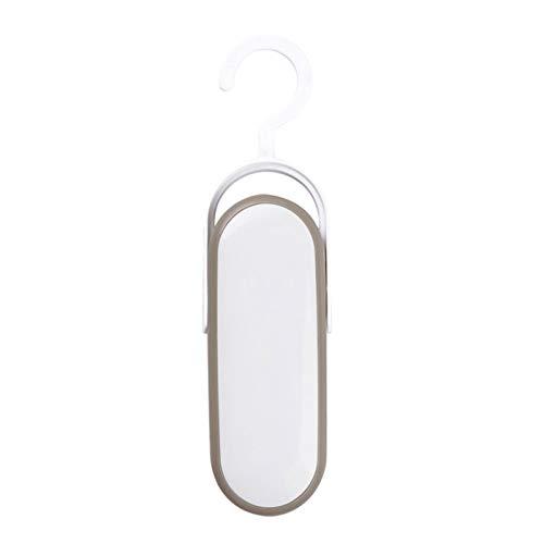 Máquina De Sellado De Vacío Manual Portátil, 2 En 1 Sello De Calor Y Cortador Mini Sellador De Alimentos Para Bolsas De Plástico Almacenamiento De Alimentos (Color : White)