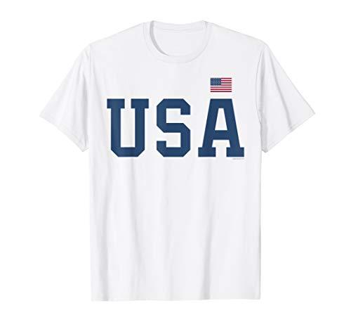 USA T-Shirt für Herren, Frauen und Kinder Flagge USA Amerika
