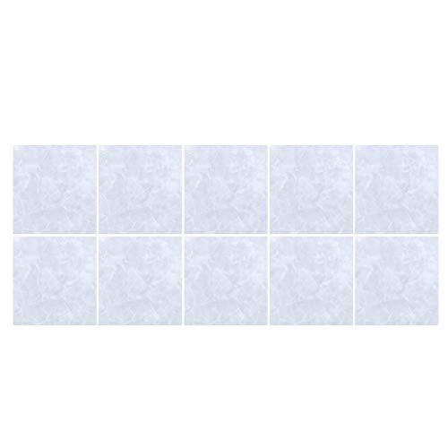 Calcomanías para azulejos de ladrillo, adhesivo impermeable para azulejos, 10 unids / set, 20x20 cm, adhesivo autoadhesivo para azulejos, antideslizante, decoración de la pared del piso, adhesivo impe