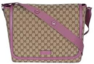 31ed31dc544d Amazon.com: Gucci GG Canvas Diaper Bag Pink Italy New: Shoes