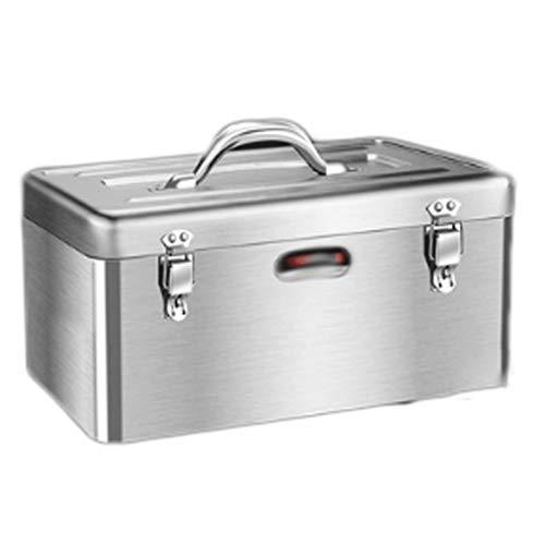 Cajas y maletines Mantenimiento cajas de herramientas portátil multifunción Hoja electricista hierro Caja de herramientas Herramienta de herramientas cofres de doble capa de hardware caja herramienta